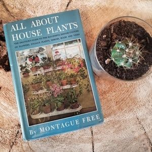 Vintage All About House Plants Book Montague Free